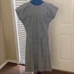 Eileen Fisher 'graphic dot' skirt & top.